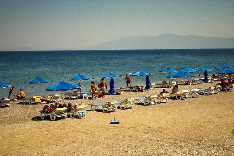 Agios Fokas (Psalidi) Plajı